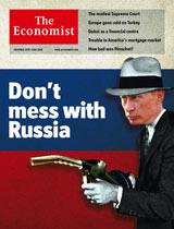 Putin Economist Cover