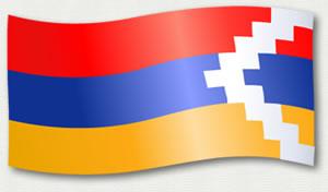 Nagorno Karabakh flag
